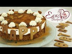 Russisch-Brot-Torte für festliche Anlässe / Käse-Sahne-Creme / Backen evasbackparty - YouTube