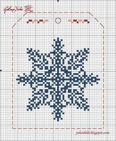 Крестики без ноликов.: Новогодняя гирлянда 4 / Christmas garland 4