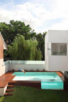 petite piscine hors sol, designs spectaculaires de piscines