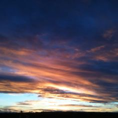 Montana Sky--Now I know why they call it Big Sky Country!