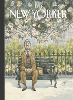 "The New Yorker - Monday, May 30, 2005 - Issue # 4123 - Vol. 81 - N° 15 - Cover ""The Song of Spring"" by Peter de Sève"