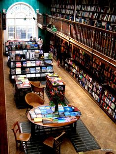 Oksana, I found what your bookstore should look like! Beautiful Library, Dream Library, Library Books, I Love Books, Books To Read, Bookstore Design, Book Cafe, Home Libraries, World Of Books
