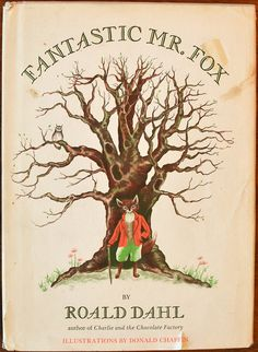 first edition ofFantastic Mr. Fox(1970)  Happy Roald Dahl Day!