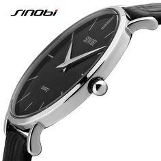 $18.46 (Buy here: https://alitems.com/g/1e8d114494ebda23ff8b16525dc3e8/?i=5&ulp=https%3A%2F%2Fwww.aliexpress.com%2Fitem%2FSKMEI-New-Design-Casual-Watches-Men-Genuine-Leather-Band-Quartz-Watch-Auto-Date-Sport-Business-Mens%2F32529260279.html ) SINOBI New Design Casual Quartz-Watch Super Slim Leather Strap Men's Watch Waterproof Business Watch Men Clock Reloj Hombre for just $18.46