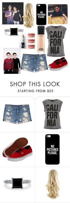 """With The Dolan Twins"" by socksthecat ❤ liked on Polyvore featuring Dolan, rag & bone, Topshop, Vans, Casetify, BERRICLE and MAC Cosmetics"