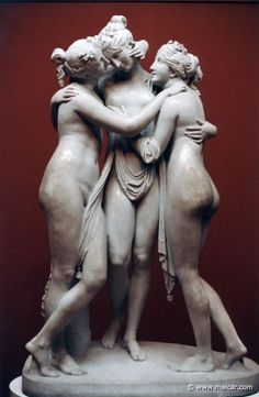 Antonio Canova (1757-1822) - The Three Graces