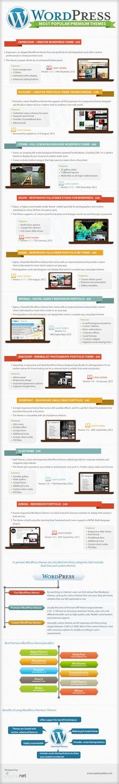 Los temas premium de WordpPress más populares