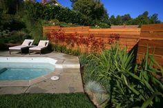 horizontal privacy fence ideas | Modern Horizontal FenceGates and FencingLisa Cox Landscape ...
