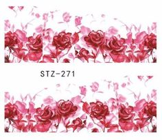 Buy WATER TRANSFER NAIL ART DECAL - FLOWER for R6.20