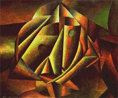 """""""Head of a Peasant Girl"""", by Kazimir Malevich (1913)"""