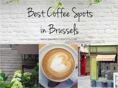 Discover Brussels' best coffee spots through the eyes (and palate) of a local foodie!