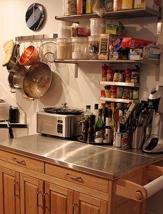 9 best no pantry solutions images kitchen storage kitchens rh pinterest com