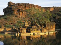 Badami Cave Temples, Badami In Karnataka Temple India, Choice Hotels, States Of India, World Travel Guide, India Tour, South India, Karnataka, India Travel, Incredible India