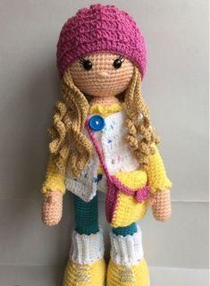 Mesmerizing Crochet an Amigurumi Rabbit Ideas. Lovely Crochet an Amigurumi Rabbit Ideas. Crochet Gifts, Cute Crochet, Crochet Baby, Crochet Tops, Easy Crochet, Crochet Beanie, Crochet Dolls Free Patterns, Amigurumi Patterns, Knitted Dolls Free
