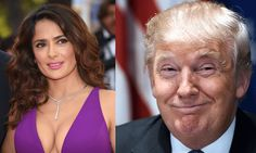 Salma Hayek was a guest on the Daily Show this week and she revealed that she was once asked on a da