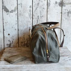 The Daybag: Moss by Peg and Awl by PegandAwl on Etsy