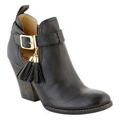 Mia Women's Fashion Shootie Sinclairr - Black $31.99
