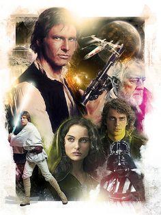Star Wars | An editorial illustration combining aspects of b… | Flickr