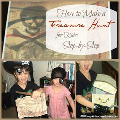 Awesome treasure hunt: How to create the ultimate treasure hunt for your kids, based on their ages and interests, even as their ages and interests change.