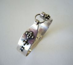 Simple Finnish Modernist Kaunis Koru Sterling Bracelet with Granulated Surface 925 Silver Bracelet, Sterling Silver Jewelry, Jewelry Art, Vintage Jewelry, Unique Jewelry, Unique Bracelets, Luxury Jewelry, Jewelry Making, Bling