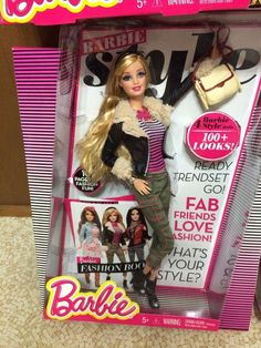 2013 Barbie Style 100+ Looks 1st Wave Doll