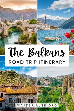 Use these detailed travel itineraries to plan a road trip in the Balkans. #Balkans #Europe #Albania #Bulgaria #Croatia #Slovenia #BosniaandHerzegovina #Serbia #Kosovo #Greece #Macedonia #Montenegro #Romana | Balkans travel | Balkans road trip | Balkans itinerary