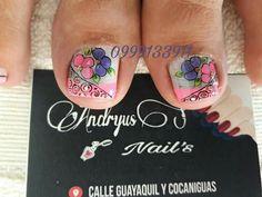Print Tattoos, Feet Nails