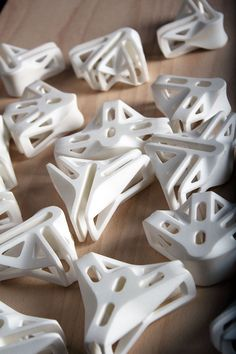 3D printed joints designed by Ollé Gellért. #3dprinted
