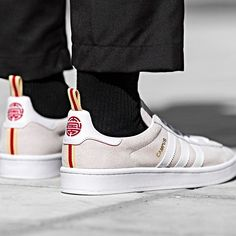 huge discount 94742 2743d Clothing  Sneaker · Adidas Campus Cny White Size 4 5 6 7 8 9 10 11 12 13 14