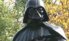 Lenin Statue Transformed Into Darth Vader In Ukraine