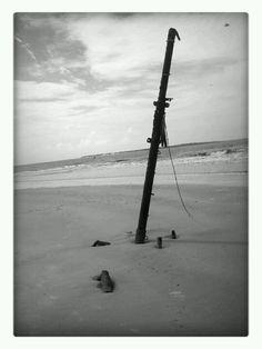 Ship Wreck in Jekyll Island, GA