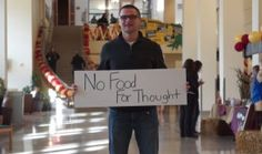 Mike Rose '14 is living out responsible engagement and encouraging others to do the same via No Food for Thought, a hunger awareness campaign he founded. #cordmn #NFFT