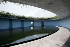 Oval at Benesse House Museum on Naoshima is accessible only to its overnight guests.