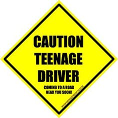 """holding my breath: a tale of teen driving.""  when do we let our kids ride in cars with teen drivers?"