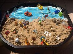Pirates cove sensory tuff tray