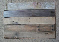 Pallets and Patents Diy Wall Art