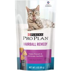 Purina Pro Plan Focus Hairball Remedy Chicken Cat Treats *** It is wonderful having you for seeing our picture. (This is our affiliate link) Pro Plan, How To Plan, Chicken Cat, Cat Care Tips, Cat Treats, Cat Health, Pet Supplies, Cat Lovers, Remedies