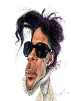 caricature   prince