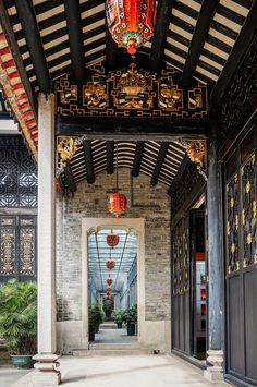 广东粤剧博物馆(兆祥黄公祠) Airport Vip Lounge, All I Ever Wanted, Old Building, Future House, Oriental, China, Vacation, Adventure, History
