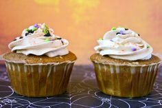 Bakergirl: Pumpkin Spice Cupcakes for Two.