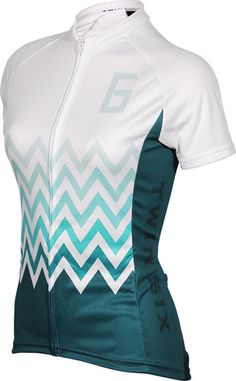 The Climber Womens Cycling Jersey by Twin Six. Visit us @ http://www.wocycling.com/ for the best online cycling store.
