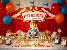 Telón de fondo para imprimir - colección de fiesta de cumpleaños de carnaval