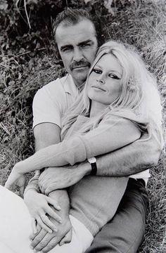 Sean Connery and Brigitte Bardot