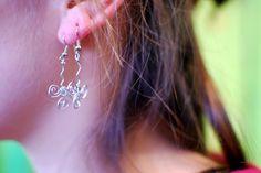 Wiry earrings at IMWe 2014