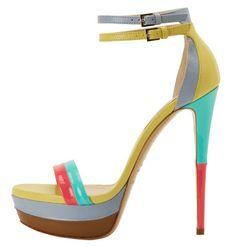 Colour me happy! Ruthie Davis #platformpumps #ladiesshoes #ladiespumps #ladiesheels