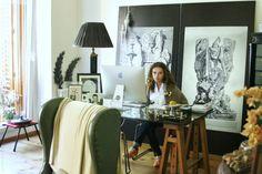 Un elegante espacio de trabajo An elegant workspace