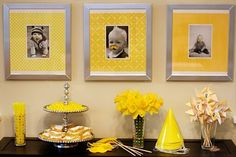 decor - photos with mustache