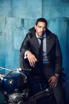 """Eye Candy: Laz Alonso Covers Fuzion Magazine's May 2013 """"Men's Issue"""""""