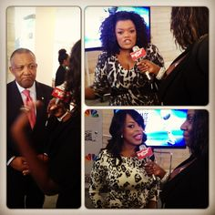 Interviewing Niecy Nash and Yvette Nicole Brown @ the NAACP Image Awards Announcement