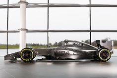 Von der Seite ein echter Hingucker: Der McLaren MP4-29